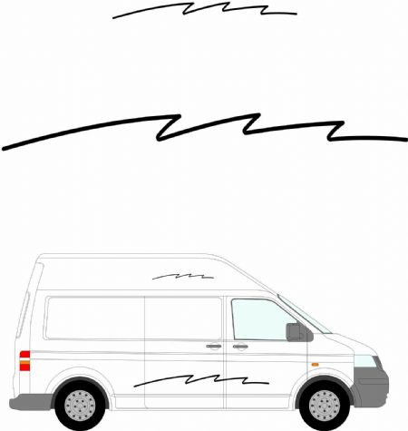 (No.246) MOTORHOME GRAPHICS STICKERS DECALS CAMPER VAN CARAVAN UNIVERSAL FITTING